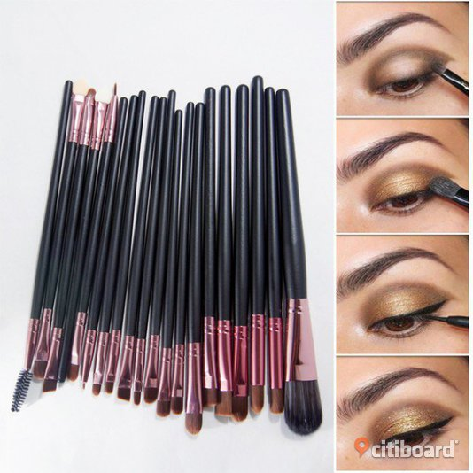 Makeup Brush Set Sminkborstar 20st