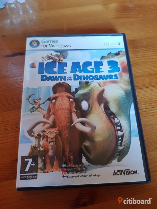 Ice age 3 Pc spel  Elektronik Sölvesborg