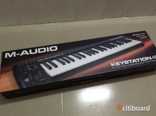 M-Audio Keystation 49 Midiklaviatur Göteborg