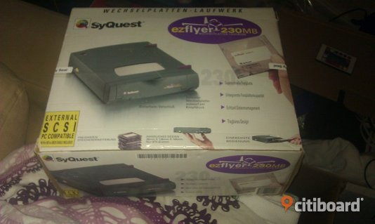 Syquest ezflyer 230MB Huddinge