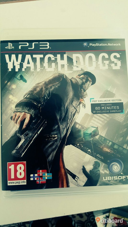 """Watch dogs"" ps3 Uppsala"