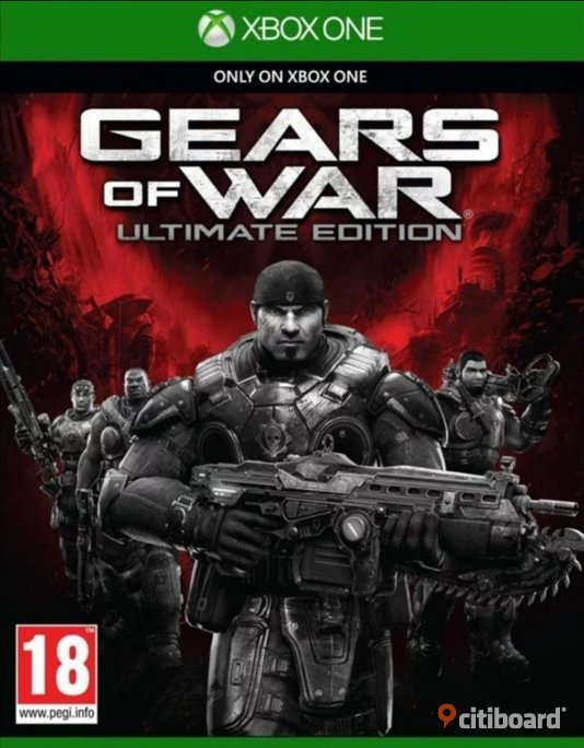 Gears Of War: Ultimate Edition (XBOX ONE) Kod! Elektronik Motala