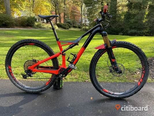 2018 Specialized S-WORKS Camber 29er Medium XX1 Eagle 12 speed Carbon MTB Karlskrona