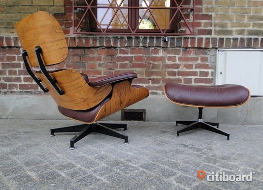 Original Herman Miller Lounge Chair 670 + Ottomane 671 Lund