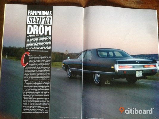 CLASSIC Motor Magasin.  nr 11, 2004 Stockholm