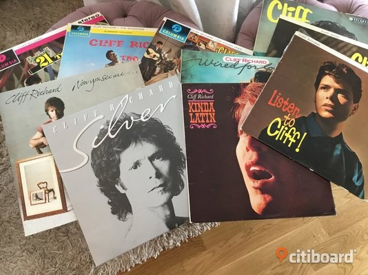 10 st LPs CLIFF RICHARD