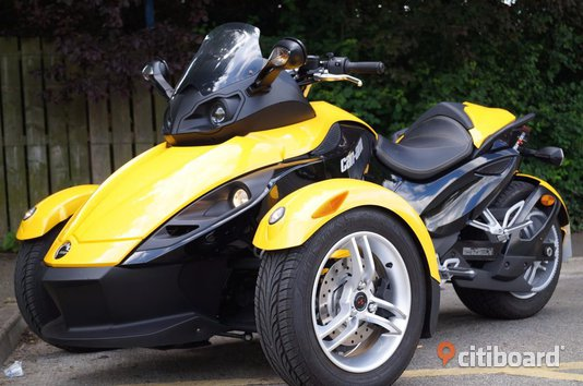 2008 Can-Am Spyder Roadster Stockholm