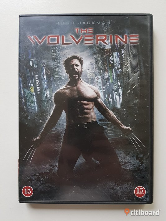 DVD-film: The Wolverine - Hugh Jackman Mjölby Sälj