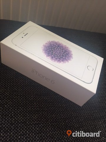 Olåst Iphone 6, 16gb silver. Borås / Mark / Bollebygd