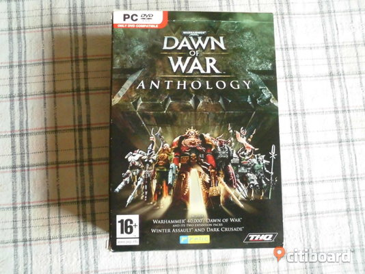 Warhammer 40.000. Dawn Of War Anthology. PC-Spel. PC-spel Eslöv