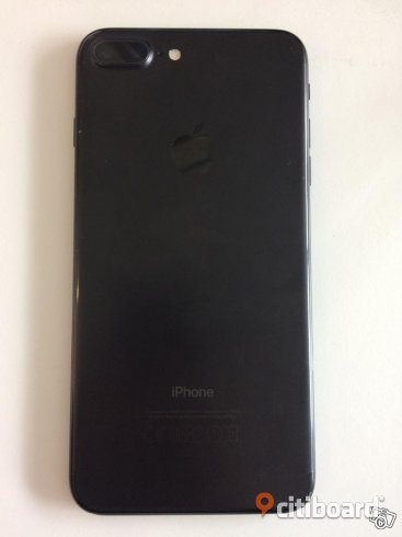 Iphone 7 plus 128gb svart Sundsvall