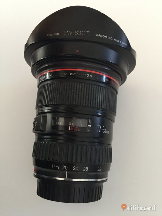 Canon EF Zoom lins