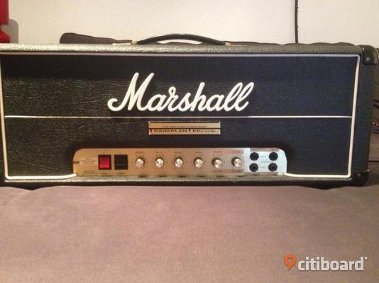 Marshall JMP 100W (Tommy Folkesson modifierad)
