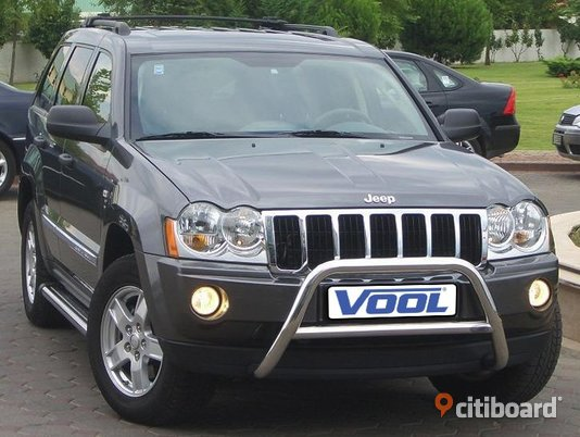 MINDRE frontbåge - Jeep Grand Cherokee 2006-2011 Kungsbacka