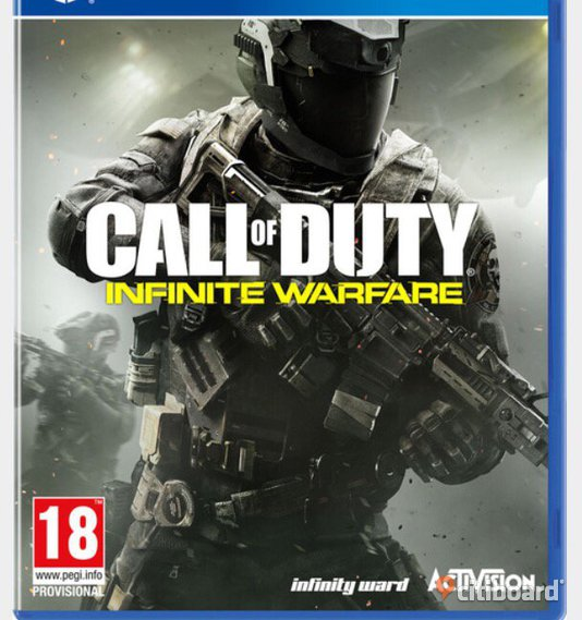 call of duty infinite warfare ps4a Stockholm