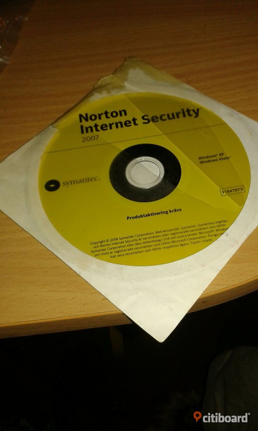 Norton Internet security Elektronik Norrköping Sälj