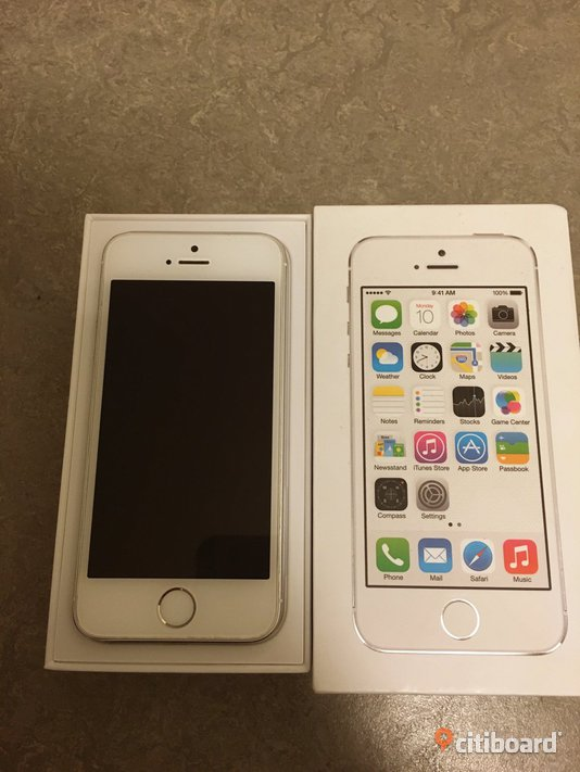 Iphone 5s 16GB, silver