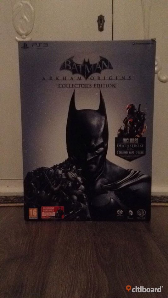 BATMAN ARKHAM ORIGINS COLLECTIONS EDITION  Västra Götaland Borås / Mark / Bollebygd