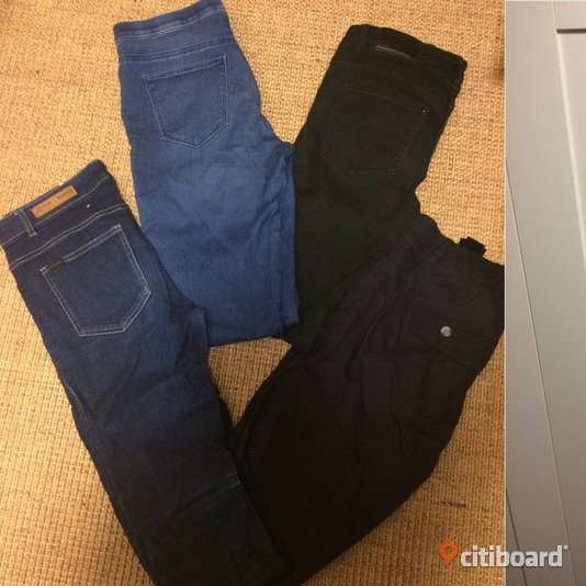 Jeans, leggings, chinos Midja 29-30 tum Halmstad