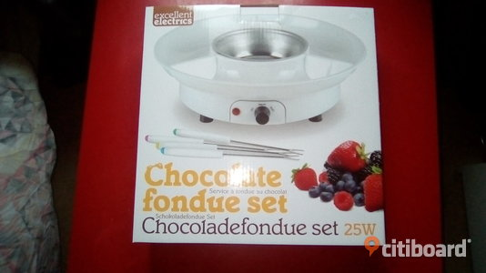 Chocolate fondue set Stockholm