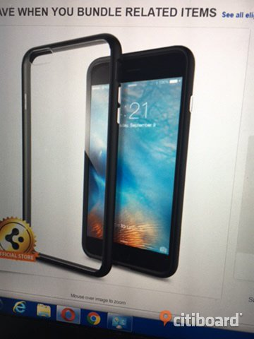 Iphone 6S/6 Plus Spigen skal, cover case, oanvänt