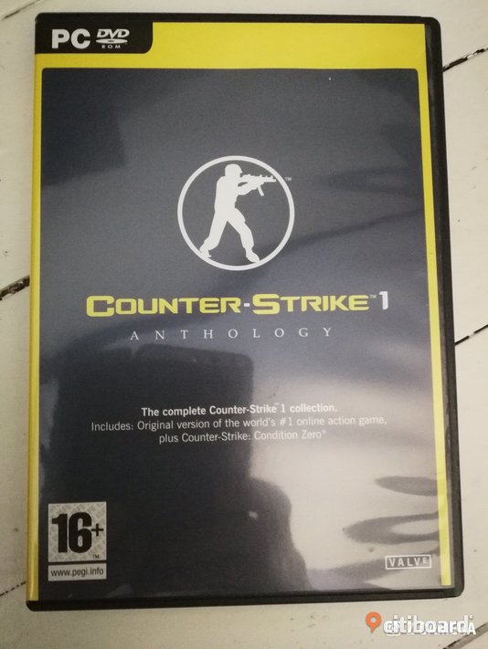 Pc spel Counter strike 1 anthology Västra Götaland Borås / Mark / Bollebygd