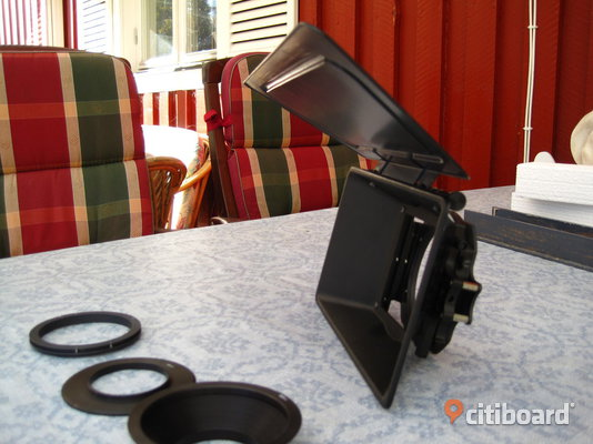 CLIP-ON MATTE BOX / MATTEBOX 16:9 Filipstad