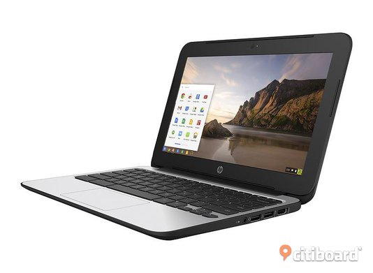 "HP Chromebook 11 G4 2015 + 4GB + 16GB SSD +HDMI+ wifi + HD Graphics+kamera 11.6"" Bärbara datorer Burlöv"