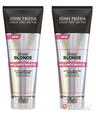 Sheer Blonde Brilliantly Brighter Shampoo + balsam! Landskrona