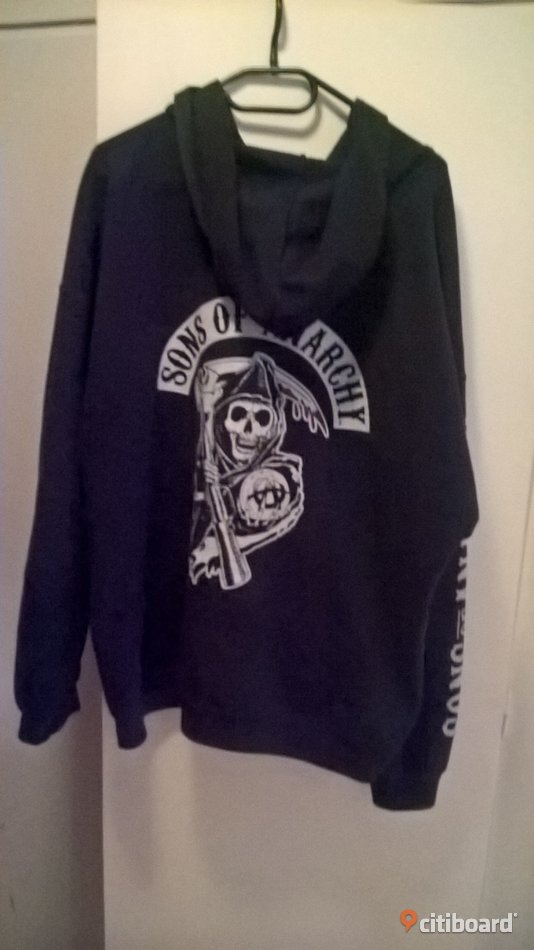 Sons of anarchy hoodie i storlek XX-L 58+ (XL+) Mode Norrköping