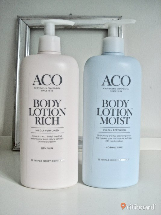 ACO - Body Lotion Moist + Rich! Nya! Malmö