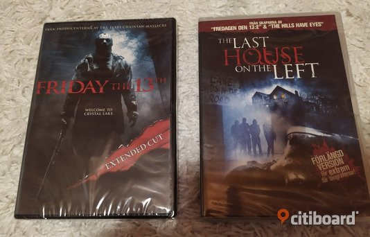 The last house on the left (2009) (Förlängd version) och Friday the 13th (2009) (Extended cut) Örebro
