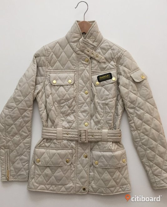 Barbour jacka dam international quilt