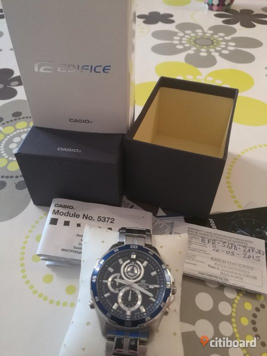 Casio edifice Gislaved