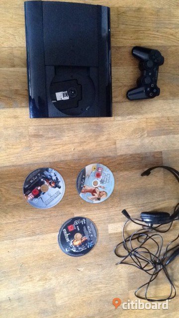 Playstation 3, 500GB Super Slim Borås / Mark / Bollebygd