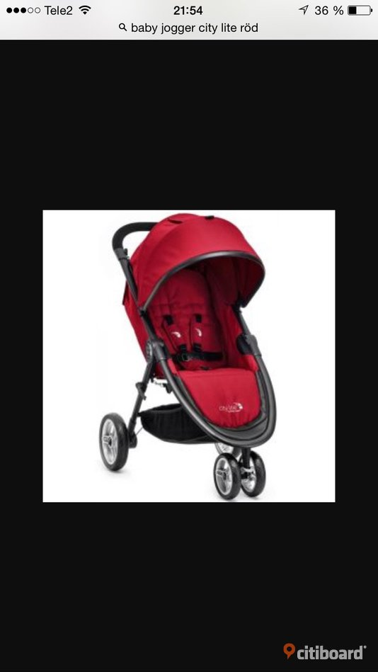 Baby jogger city lite Stockholm