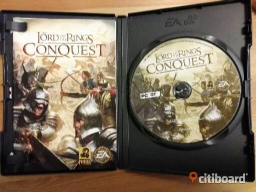 The Lord of The Rings: Conquest PC Komplett med manual Kungälv