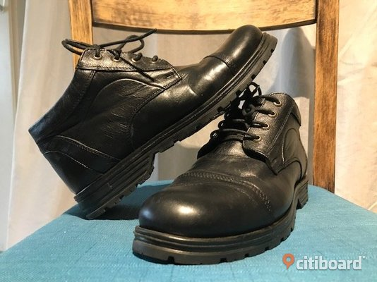 Stylish leather mens shoes.  41-42 Lund
