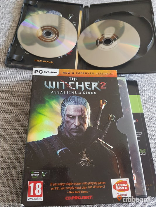 Witcher 2 collector  Södermanland Eskilstuna