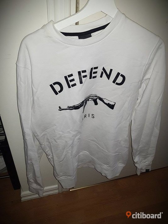 DEFEND PARIS Crewnecks/Sweatshirts 48-50 (M) Oskarshamn