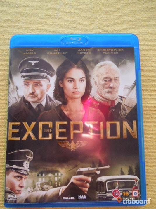 The Exception (Blu-ray) Stockholm Sälj