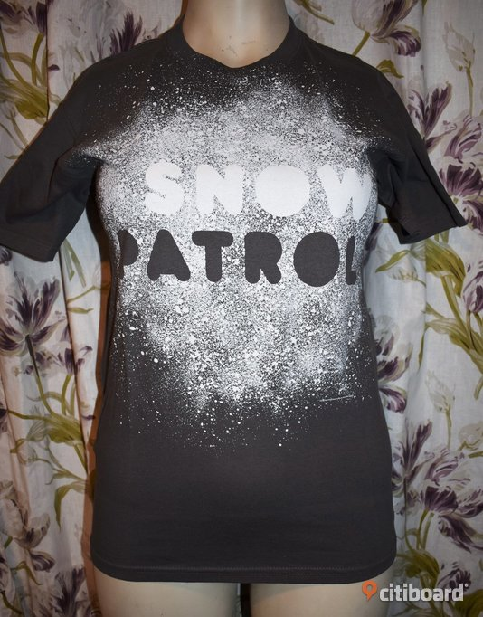 Ny! T-shirt - Snow Patrol - Rock/Band/Metal 48-50 (M) Luleå Sälj