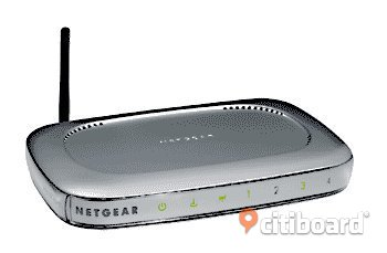 NETGEAR Router WGR614v4 — 54 Mbps Wireless Router Stockholm