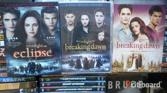 DVD FILM Twilight paket Sollentuna