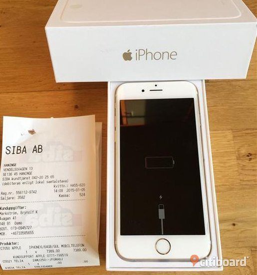 Apple iPhone 6 32GB Blekinge Sölvesborg