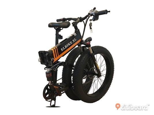 ELBIKE XL, 350 w, elcykel, elmoped, fatbike, fat bike Umeå