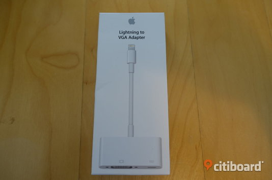 Apple VGA Adapter NY! Stockholm