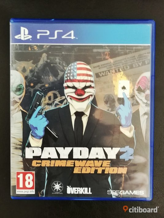 Ps4 spel Payday 2 Crimewave Edition  Stockholm