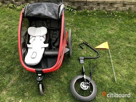 Hamax Outback Child bike trailer / barn cykelvagn  Stockholm Danderyd Sälj