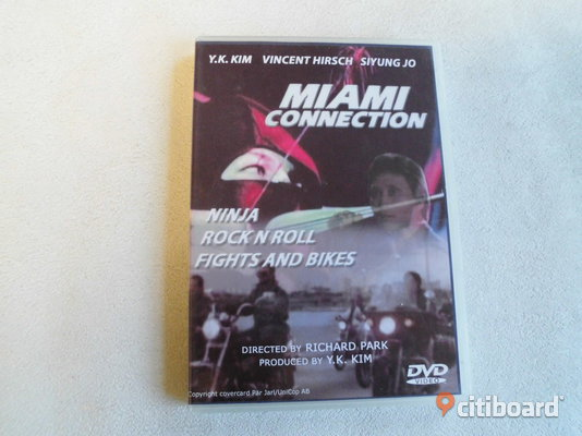 Miami Connection. Dvd. 1987. Ninja/Karate. Eslöv Sälj